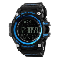 Instructions Outdoor Sports Sport Smart 5Bar Buckle Intelligent Men Fashion Digital Pedometer Casual Watch Round Watch