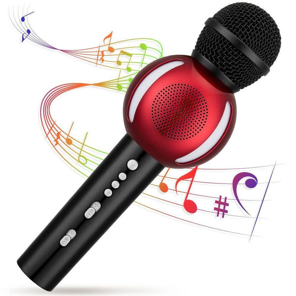 Details about   Wireless Karaoke Microphone,Fnova Portable Bluetooth Karaoke Player for Home KTV