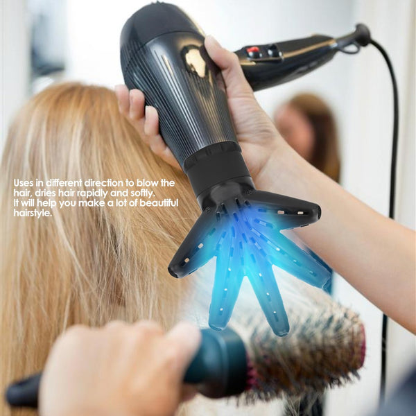 1Pc Hair Dryer Diffuser Professional Hand Shape Hair Dryer Diffuser Hood Hairdressing Curling Hair Styling Tools Salon Hairstyling Accessory