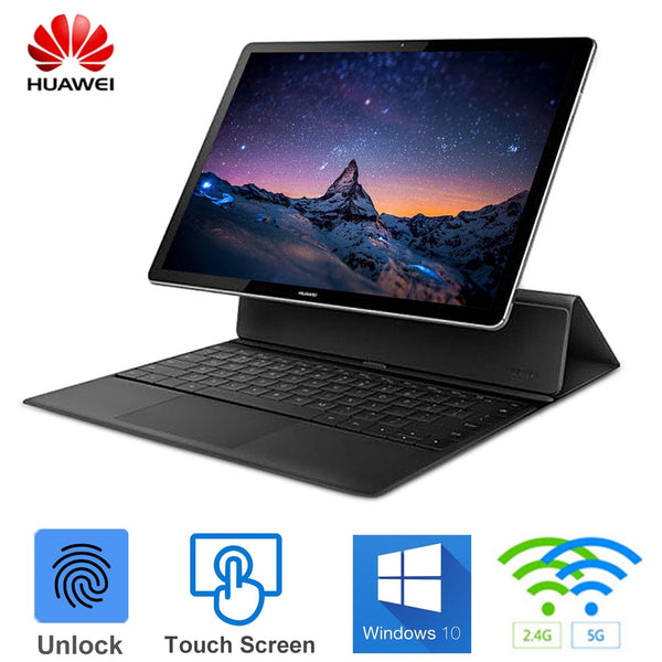 "HUAWEI MateBook E 2 in 1 12"" Laptop Windows 10 OS Intel Core i5-7Y54 Dual Core 1.2GHz 8GB 256GB Touch Screen Notebook"