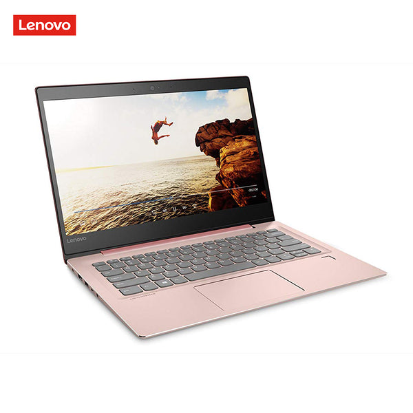 "Laptop Lenovo Ideapad 520S-14IKB Intel Core i3-7130U/2.70GHz/Dual Core/4GB/128GB SSD/14"" Pink"