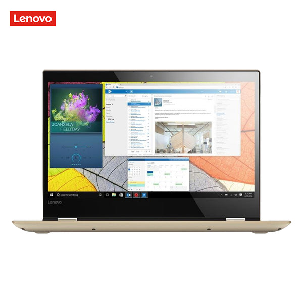 Laptop Lenovo IdeaPad 520S, 7th Intel Core i3-7130U, 2.7 GHz, 14 Inch, 1920 x 1080 pixels, 4 GB, 128 GB Color Gold