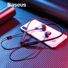 Baseus S15 Active Noise Cancelling Bluetooth Earphone Wireless Sport Earphone, Born for Create a Quiet World Only Belongs To You