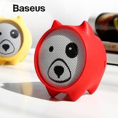 Baseus E06 Dogz Bluetooth Speaker Portable Mini Bluetooth Speaker Gift Speakers MP3 Music Player Stereo Sound Wireless Speaker