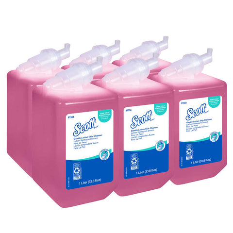 Scott Pro Gentle Lotion Hand Soap, 1000 mL, 6/cs