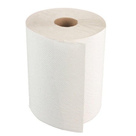 Soft Touch Roll Towels, White, 12 rolls/435 ft. per roll