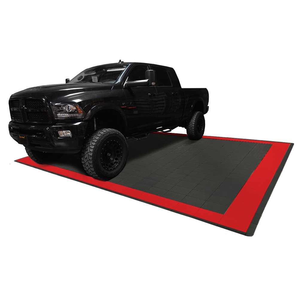 Diamondtrax Home Two Car Garage Mat