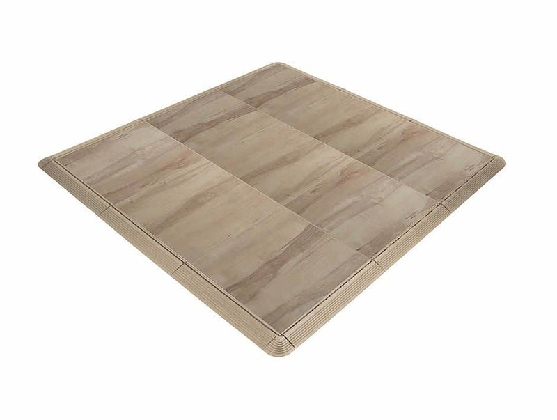 Dance Floor Kit - 4' x 4' Practice Pad (16 sq. ft.)