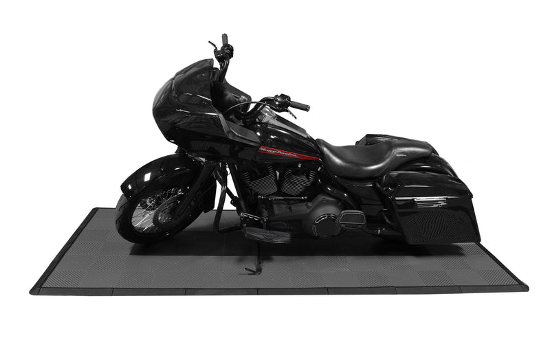 smooth Motorcycle Mat Kit Side View