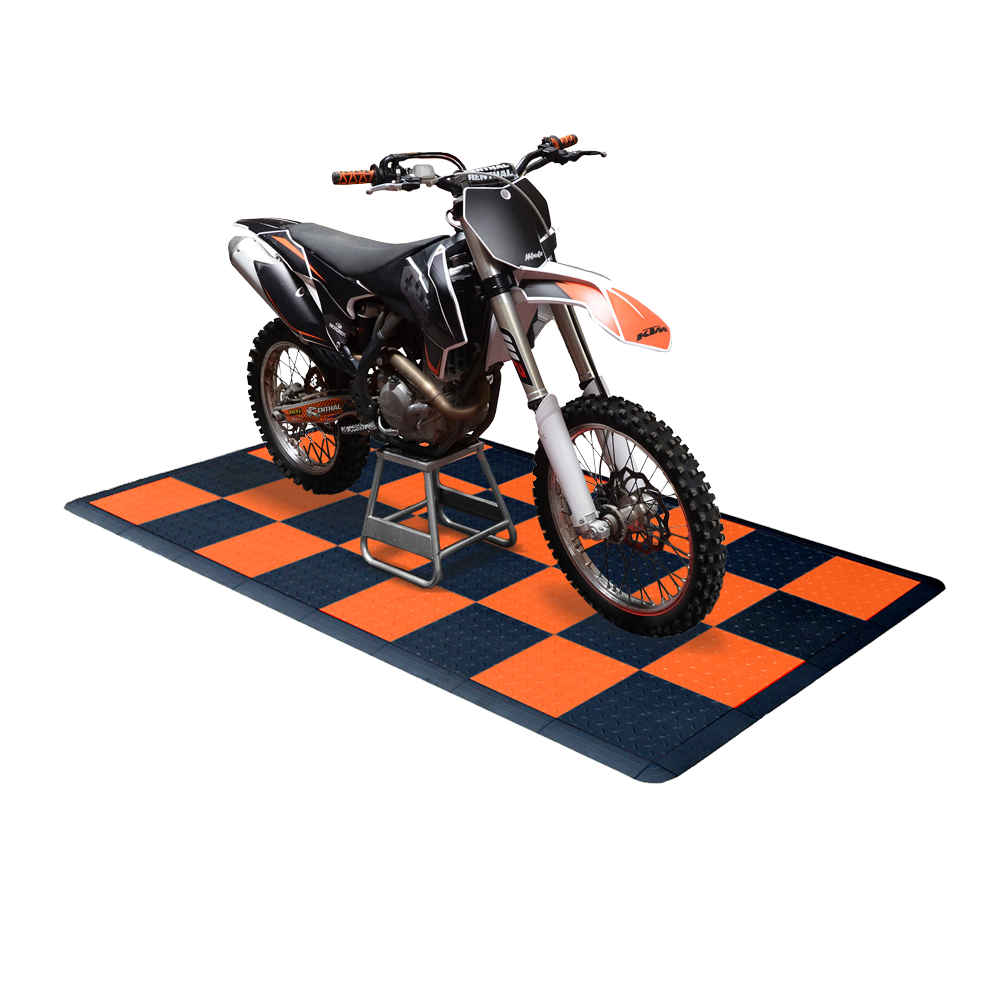 Diamondtrax Home Motorcycle Mat