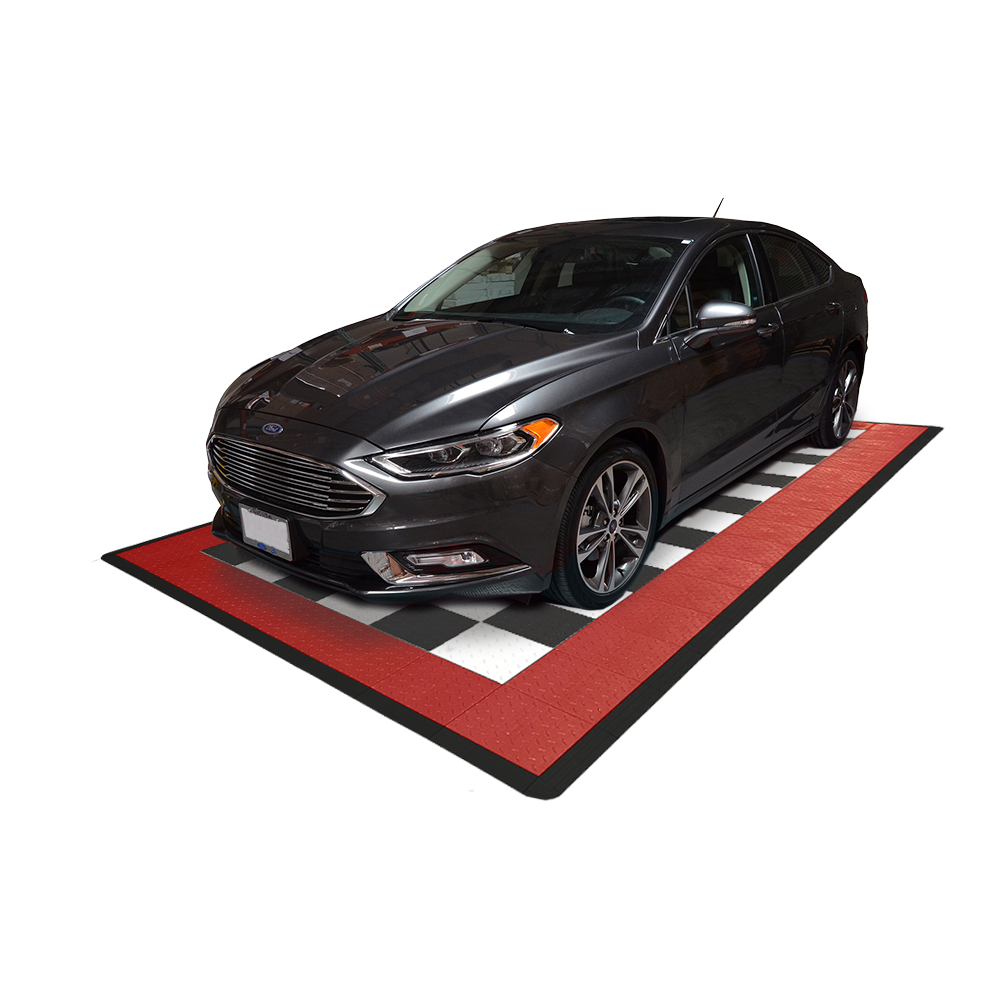 Diamondtrax Home One Car Garage Mat