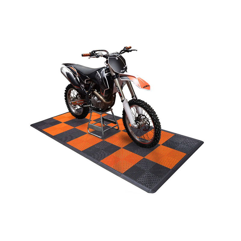 Ribtrax Smooth Pro Two Car Garage Mat