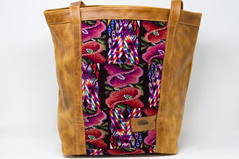 Mid-Sized Huipil Tote Bag #3