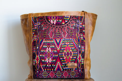 Large Huipil Tote Bag #7
