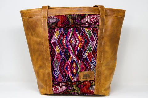 Mid-Sized Huipil Tote Bag #4