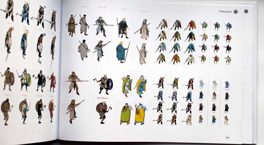 The Art of The Banner Saga