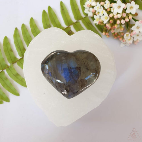 Labradorite Little Heart