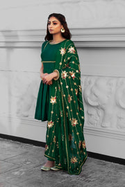 Begum Frock Set - CoutureMantra