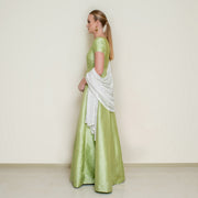 Green Bindi Anarkali