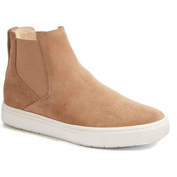 Fionachic Casual High Top Suede Sneakers