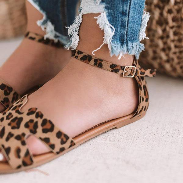 Fionachic Stylish Daily Low Heel Sandals