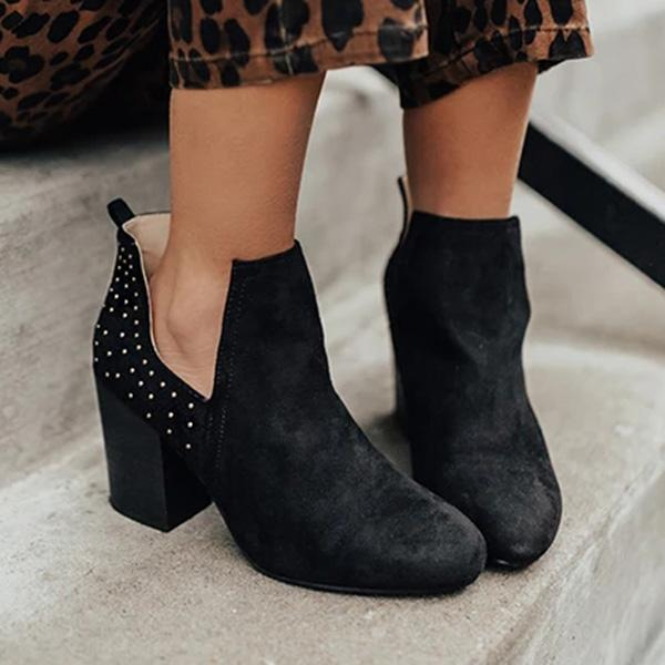 Fionachic Chesney Casual Chunky Booties