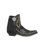 Fionachic Women Casual Retro Stylish Boots