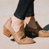 Fionachic Reveal Taupe Boots