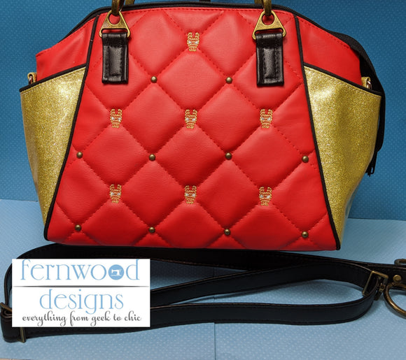 50% off Quilted Iron Man Purse