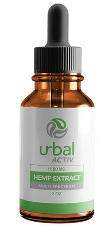 Urbal Activ® Level 3 Sublingual Multi-Spectrum CBD Drops