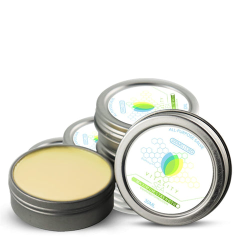 Vitality SeaCream™ - 1oz - 300mg Topical CBD