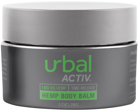 Urbal Activ® CBD Body Balm - 1oz - Regular & Extra Strength