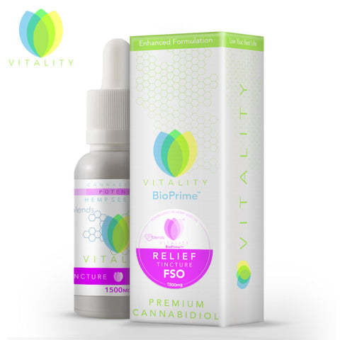 Vitality Relief CBD Oil Blends™ - 30ml