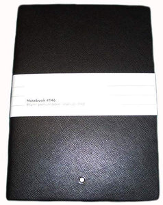 Montblanc Meisterstuck 146 blocco note - MB 113294 (Nero) (4378568163441)