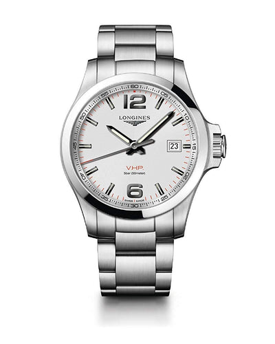 Longines Conquest 43 mm orologio l3.726.4.76.6