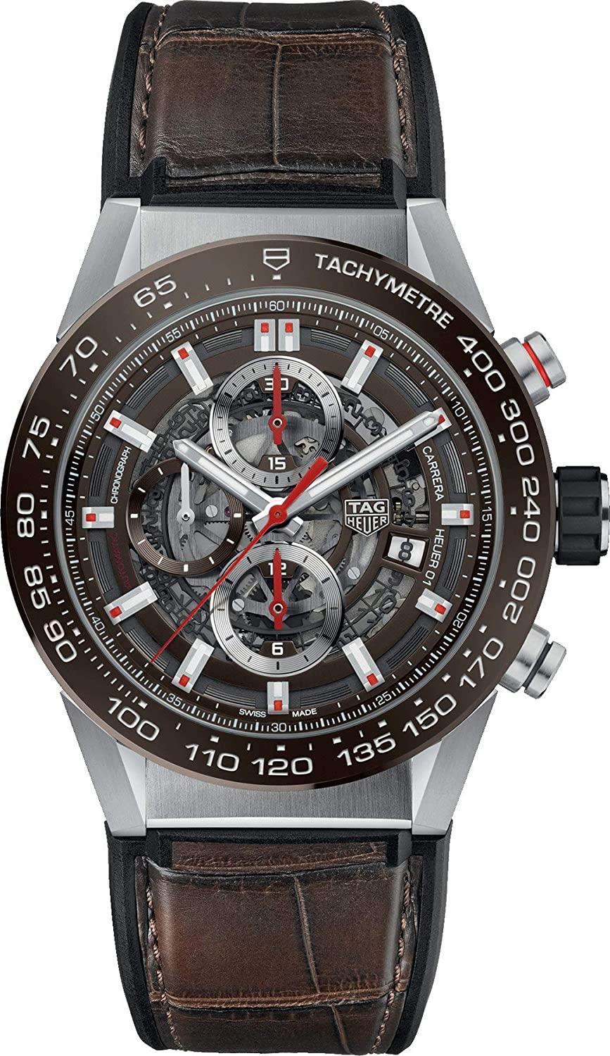 Orologio Tag Heuer Carrera Chrono CAR201UFC6405 (4540674277489)