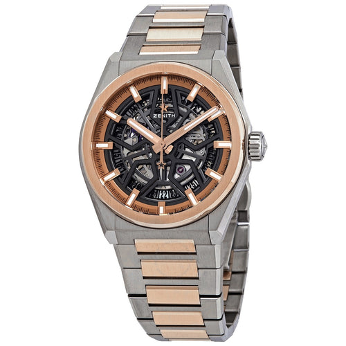 Zenith Defy Classic Reference No 87.9001.670 / 79.m9001 titane and Powder Gold (442169108977)