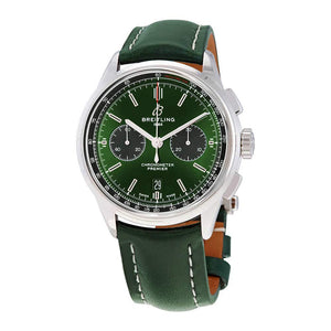 Breitling Premier B01 Chronograph 42 Bentley British Racing Green ref. AB0118A11L1X1 (4416669253745)