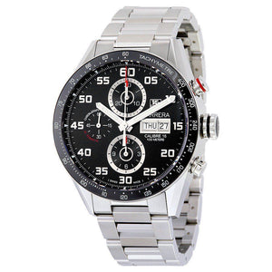 Tag Heuer Carrera Tachymeter Day Date Acciaio 43mm ref. CV2A1R.BA0799 (4416183009393)
