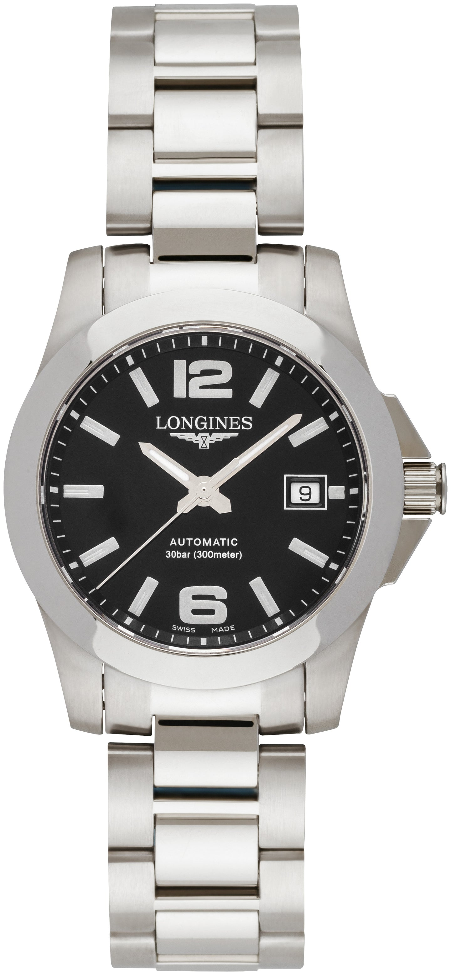 Longines Conquest  lady black L3.276.4.58.6 (2070864429110)