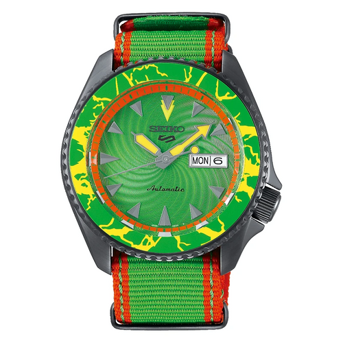 Seiko 5 Sports Street Fighter BLANKA ref. SRPF23K1