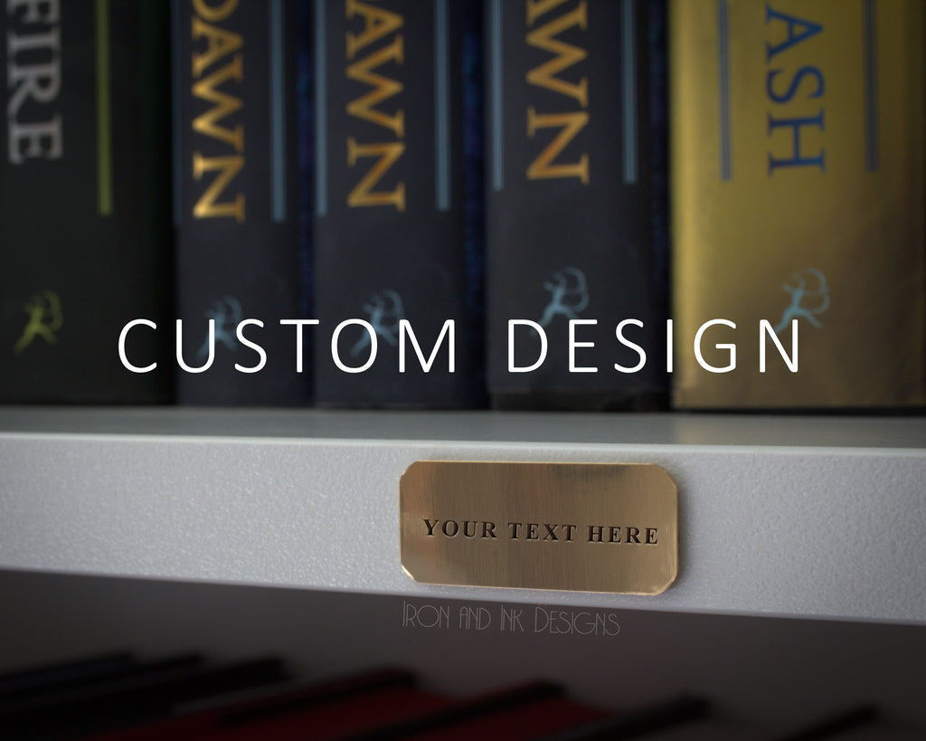 CUSTOM -Library Labels