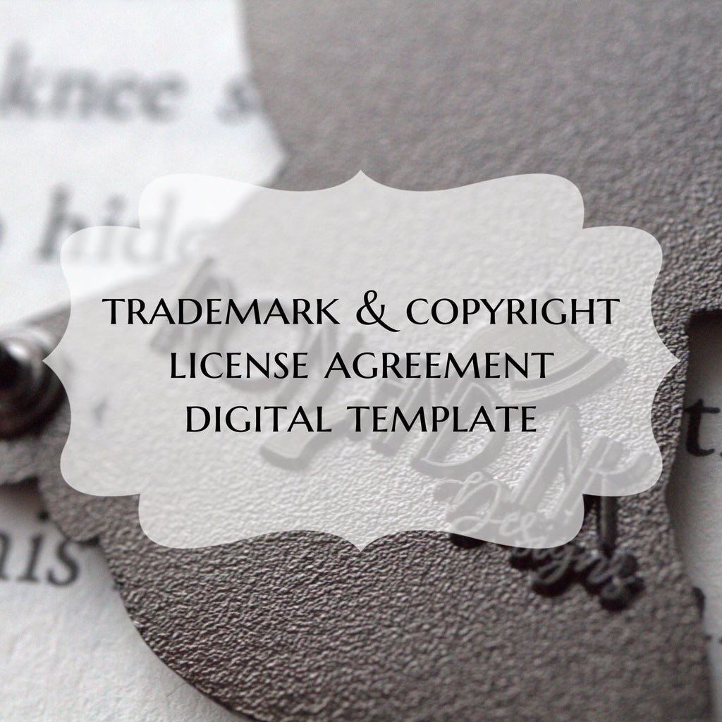 Trademark and Copyright Licence Agreement Template