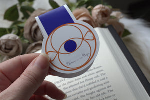 Magnetic Bookmark, Eye of Elana, TOG, quitter strip and planner accessory.