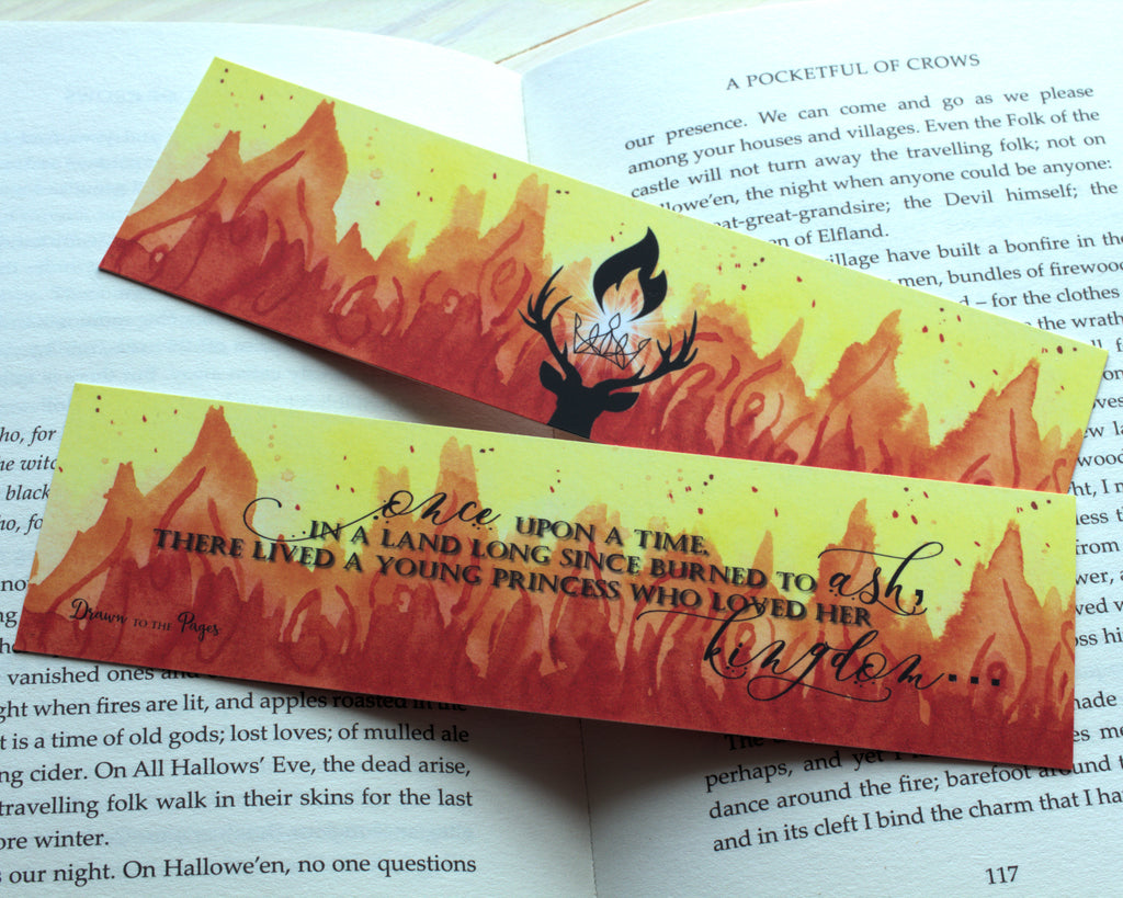 Kingdom of Ash Classic Bookmark