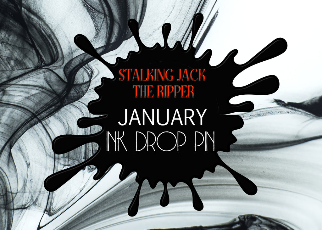 January Ink Drop Enamel Pin Only