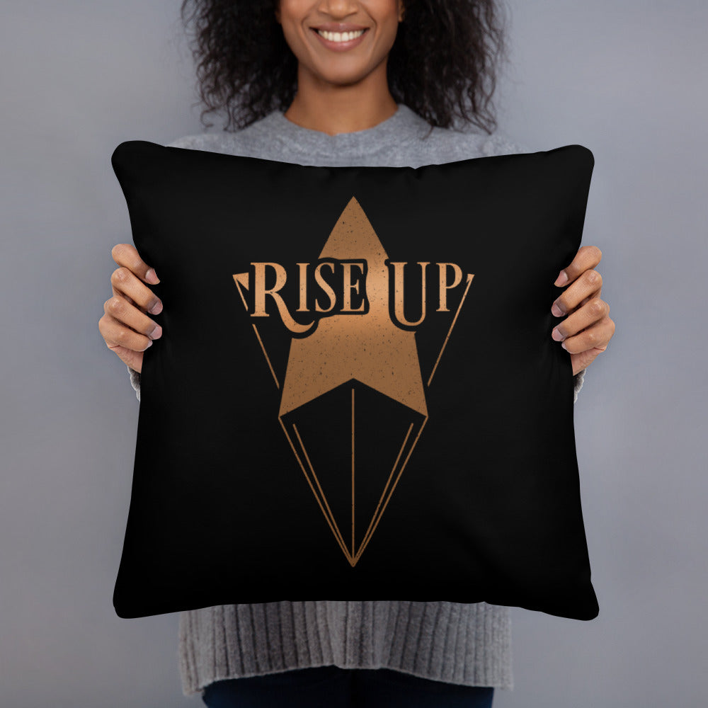 Rise up Basic Pillow