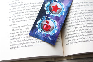 Bookmark, The Lunar Chronicles, Watercolor Bookmark.