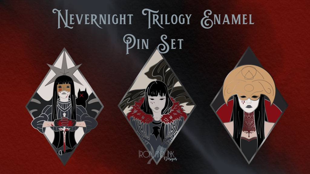PRE- ORDER Nevernight Trio Set