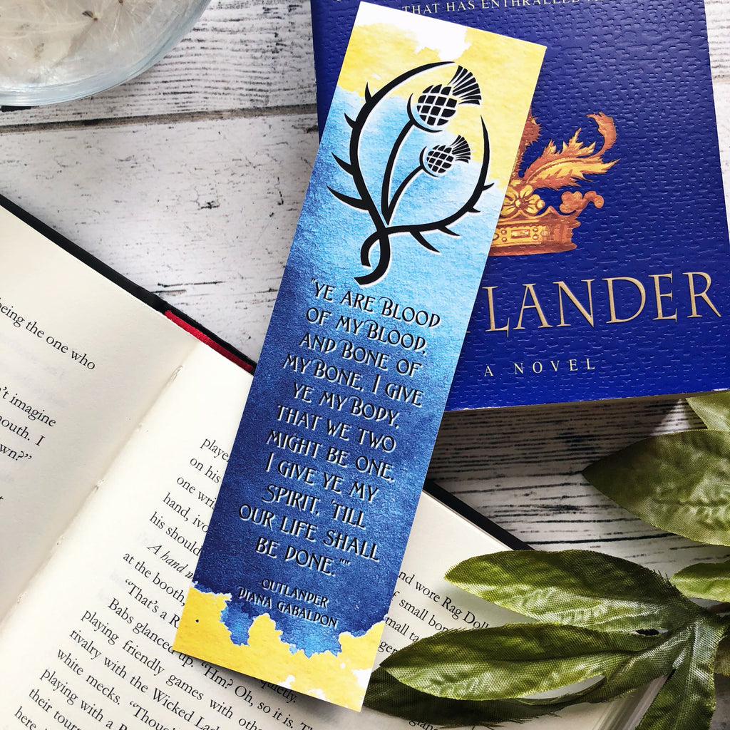 Outlander Classic Bookmark